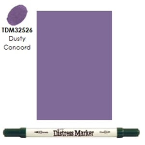 Distress Markers: Dusty Concord