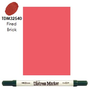 Distress Markers: Fired Brick