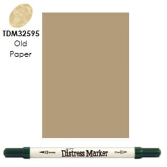 Distress Markers: Old Paper