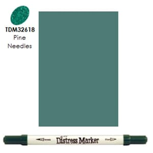 Distress Markers: Pine Needles