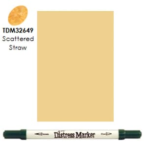 Distress Markers: Scattered Straw