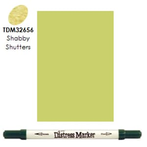 Distress Markers: Shabby Shutters
