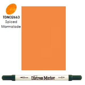 Distress Markers: Spiced Marmalade