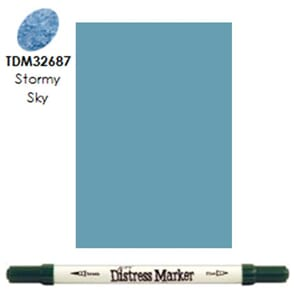 Distress Markers: Stormy Sky
