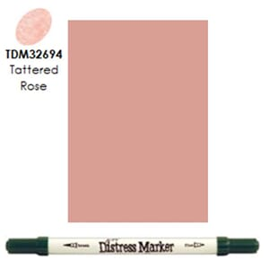 Distress Markers: Tattered Rose