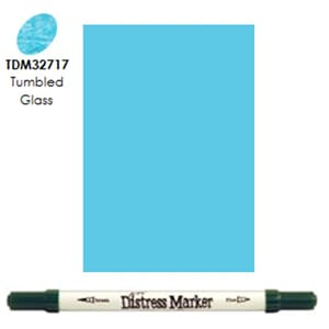 Distress Markers: Tumbled Glass