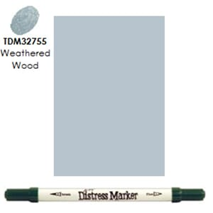 Distress Markers: Weathered Wood