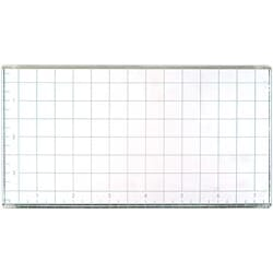 American Craft: Large Acrylic Block with Grid