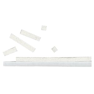 3D-Adhesive lamellas, 3x100 mm, white, 2 mm strong