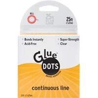 Glue Dots - Continuous Line, 1/8inch på rull