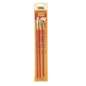 SOLO GOYA Pensel sett -  BASIC LINE Bristle mix