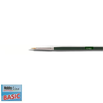 HOBBY LINE Basic - Spisspensel nr 2, nylon