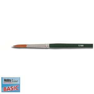 HOBBY LINE Basic - Spisspensel nr 8, nylon