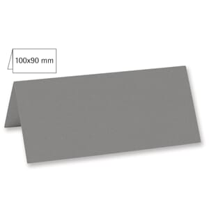 Doble bordkort 45x100 mm - Dark Grey, 5 stk