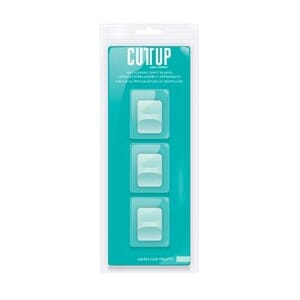 Am. Craft: Cutup Craft Paper Trimmer Replacement Blades 3/Pk