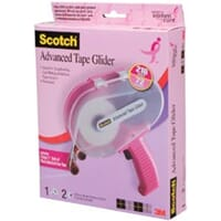 3M: Pink Scotch Advanced Tape Glider & Tape