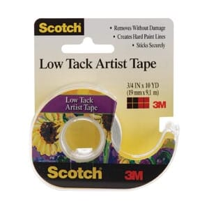 3M: Scotch Low Tack Artist Tape