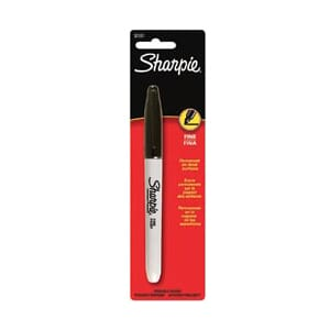 Sanford: Black - Sharpie Fine Point Permanent Marker 1/Pkg