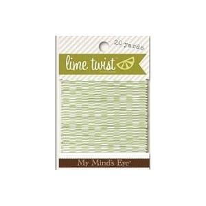 My Minds Eye: Spring - Lime Twist  20 Yards