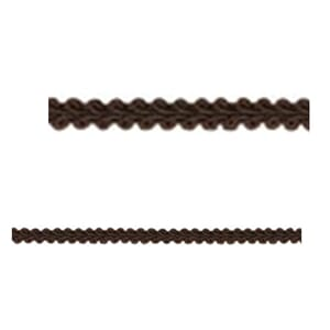 Wrights: Chocolate - Woven Scroll