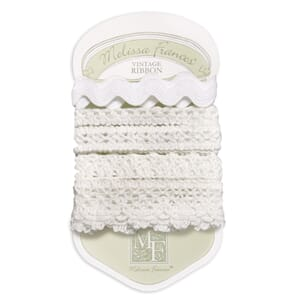 Melissa Frances: Ribbon Collection - White