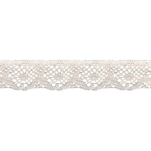 Wrights: Spider Cluny Lace - White