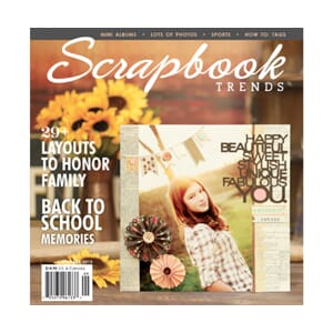 Scrapbook Trends Magazine - Sept 2012