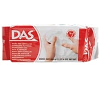 Das: Air Dry Clay - Hvit leire, 500gr