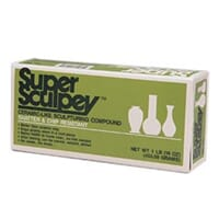 Sculpey: Super Polymer Clay - Beige, 453 gr