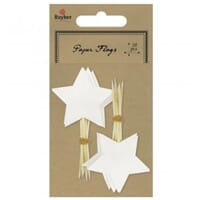 Rahyer: White - Picker Star 10/Pkg