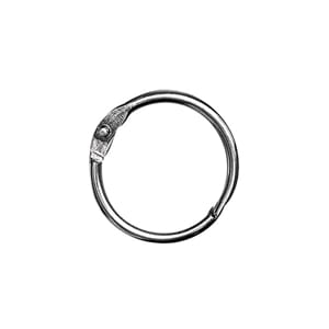 Binding Rings - 19 mm innside, 12 stk