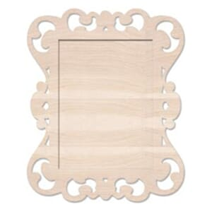 Pink Paislee: Mistables - Shadowbox Frame 11x13.5inch