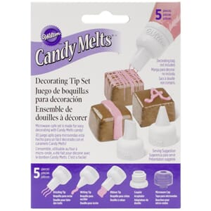 Wilton: Candy Melt Decorating Tip Set