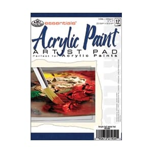 Essentials: Mini Acrylic Paint Paper Pad - 15ark