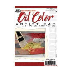 Essentials: Mini Oil Color Paper Pad 5x7inch - 12 ark