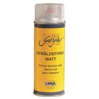 SOLO GOYA Painting Medium Pict. Varnish matt, Spray 400 ml