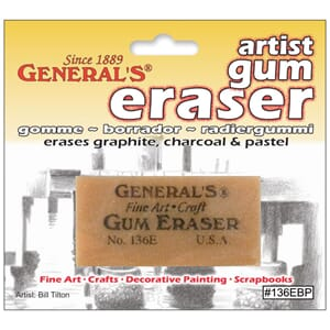 General Pencils: Artist Gum Eraser