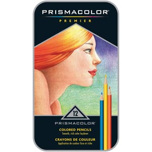 PRISMACOLOR: 12 stk Premier Colored Pencils