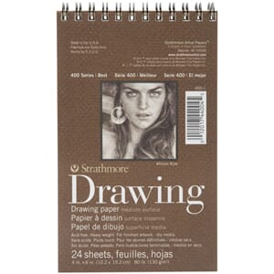 Strathmore: Spiral Drawing Medium Paper Pad 4x6 inch
