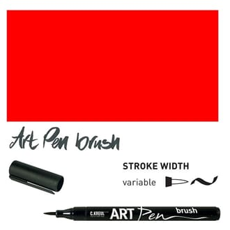 ARTPen - Red, pensel tusj