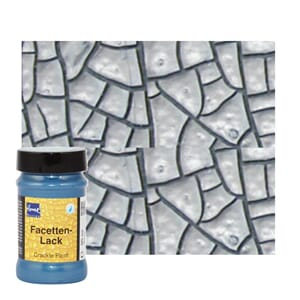 Home Design Crackle Paint 90 ml Metallic Silver