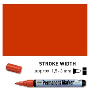 Permanent Marker Medium - Brown, 1.5-3 mm