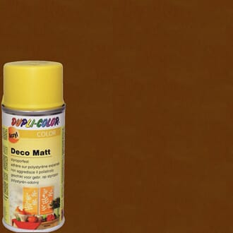 DUPLI Deco Spray - Nut Brown, matt 150ml