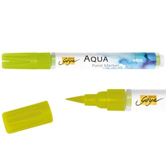 SOLO GOYA Aqua Paint Marker - Yellowgreen