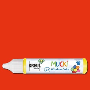 MUCKI Window Color Red, 29 ml