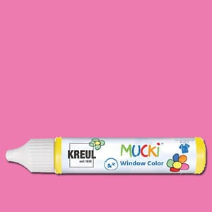 MUCKI Window Color Rosa, 29 ml