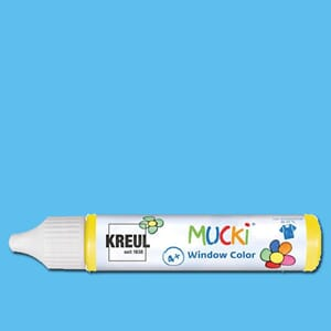 MUCKI Window Color Light Blue, 29 ml