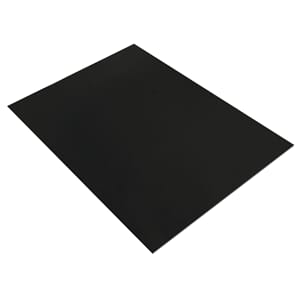 Mosegummi 2mm - Black 20x30cm