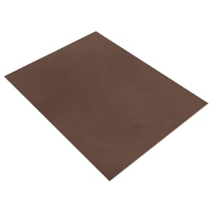 Mosegummi 2mm - Dark Brown 20x30cm