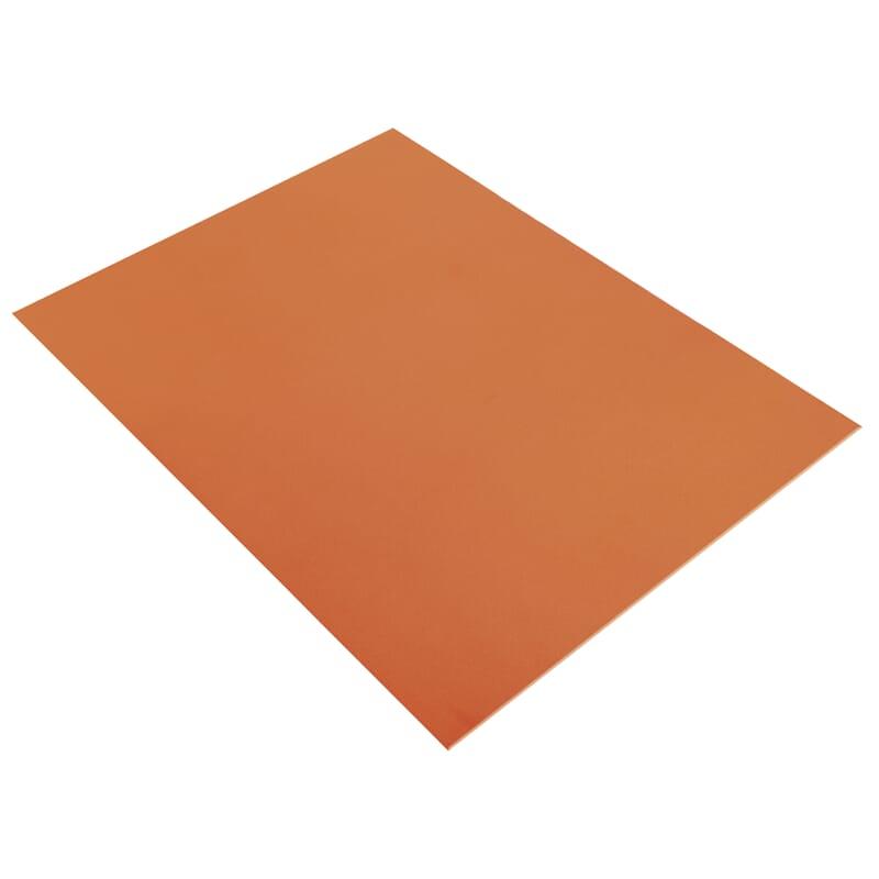 mosegummi 2mm orange 20x30cm hobbykunst norge. Black Bedroom Furniture Sets. Home Design Ideas